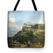 Bellotto's The Fortress Of Konigstein Tote Bag