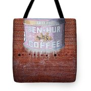 Ben Hur Coffee Tote Bag