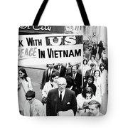 Benjamin Spock (1903-1998) Tote Bag