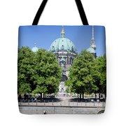 Berlin Catherdral Tote Bag