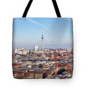 Berlin Cityscape Tote Bag