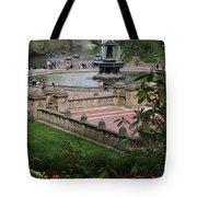 Bethesda Fountain - Central Park Nyc Tote Bag