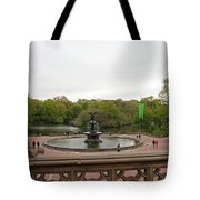 Bethesda Fountain Nyc Tote Bag