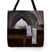 Bible In Temple Tote Bag