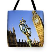 Big Ben And Palace Of Westminster Tote Bag by Elena Elisseeva
