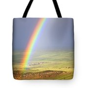 Big Horn Rainbow Tote Bag