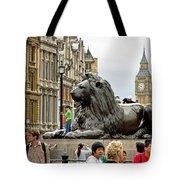 Big Lion Little Ben Tote Bag