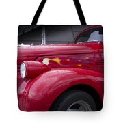 Big Red Two Tote Bag