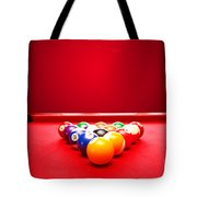 Billards Pool Game Tote Bag