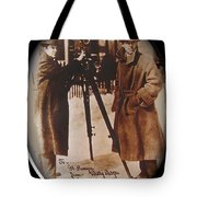 Billy Bitzer D.w. Griffith Pathe Camera Way Down East 1920-2013 Tote Bag
