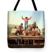 Bingham's The Jolly Flatboatmen Tote Bag