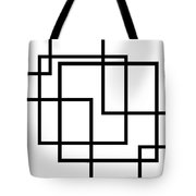 Black And White Art - 137 Tote Bag