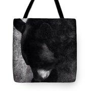 Black Bear Curtsy  Tote Bag