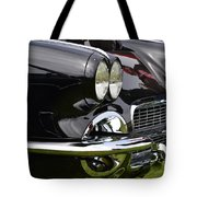 Black Corvette Tote Bag