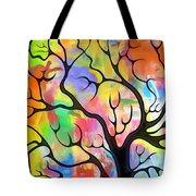 Black Tree Tote Bag