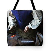Blacksmith At The Old Fort Tote Bag