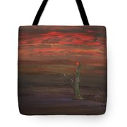 Bloom In The Murky Water Tote Bag