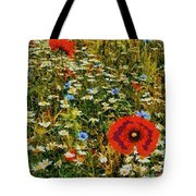 Blossoming Meadow Tote Bag