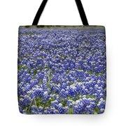Blue Bonnet Carpet V7 Tote Bag