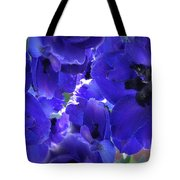 Blue Dream Floral Tote Bag