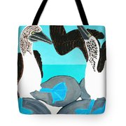 Blue Footed Boobies. Tote Bag