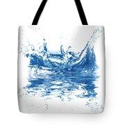 Blue Fresh Water  Tote Bag