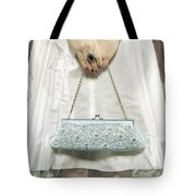 Blue Handbag Tote Bag