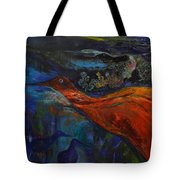 Sold   Blue Power   Tote Bag