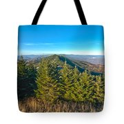 Blue Ridge Mountains North Carolina Tote Bag