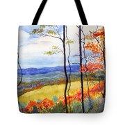 Blue Ridge Mountains Of West Virginia Tote Bag