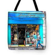 Got The Blues In Paris Tote Bag