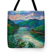 Bluestone Lake Tote Bag