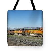 Bnsf 7199 Consist Tote Bag