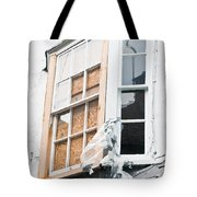 Boarded Up Window Tote Bag