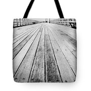 Boardwalk Of Distance Tote Bag