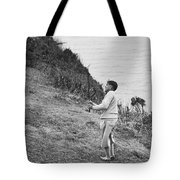 Bobby Jones At Pebble Beach Tote Bag
