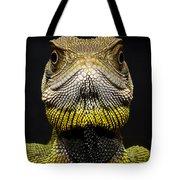 Bocourts Dwarf Iguana Choco Rainforest Tote Bag