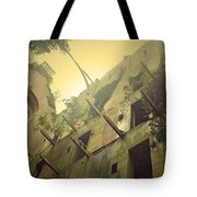 A Glowing Bodmin Jail  Tote Bag