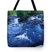 Bog River Falls Tote Bag