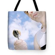 Boiled Egg Balance Tote Bag