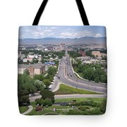 Boise From Boise Depot Tower Tote Bag