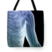 Bones Of The Shoulder And Chest Tote Bag