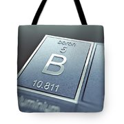 Boron Chemical Element Tote Bag