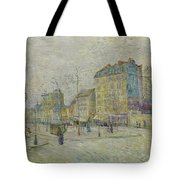 Boulevard De Clichy Tote Bag