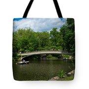 Bow Bridge Central Park Tote Bag