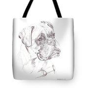 Boxer - Clue Tote Bag