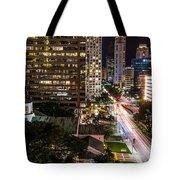 Brickell Ave Downtown Miami  Tote Bag