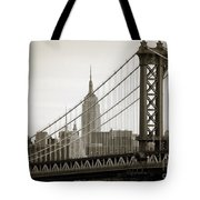 Bridge From The Bridge Tote Bag