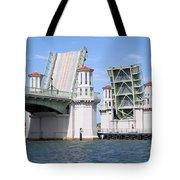 Bridge Of Lions St Augustine Florida Tote Bag