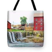 Bridgeton Mill And Covered Bridge Tote Bag